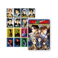 SMTown EXO THE WAR Repackage The Power Of Music Official Matching Card Game Pack