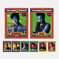 SMTown EXO THE WAR Repackage The Power Of Music Lenticular Postcard Collect Book