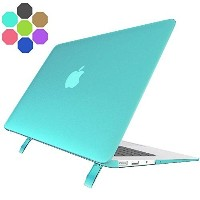 (macbook air 13 ケース) Macbook Air 13 Inch Case with Stand Alope [frosted Series] Soft Plastic Laptop.