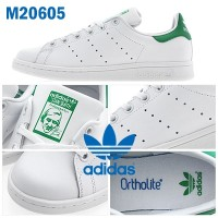[M20605]ADIDAS スタンスミス STAN SMITH J WHT/GRN