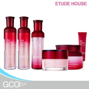 [ETUDE HOUSE] Red Energy Tension Up Essence/Cream/Eye balm/Canpsule/Emulsion/Toner