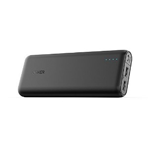 Anker PowerCore 20100 (20100mAh 2ポート 超大容量 モバイルバッテリー パナソニック製セル搭載) iPhone / iPad / Xperia / Android各種他