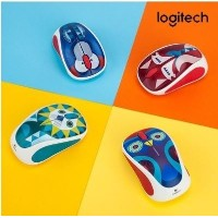 【LOGITECH] M238 2.4GHzのワイヤレスマウス/ポータブル/コンピュータアクセサリー/ノートパソコン/マウスパッド