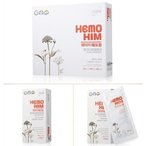[アトミ / Atomy] HemoHIM Plus Supplement / 20ml X 60pouch(1200ml)/ 健康免疫システム用