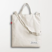 [FurSie] New Venice Canvas Cross Bag Beige