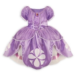 (Disney) Disney Sofia the First Dress Costume for Girls Small 5 / 6 Sophia