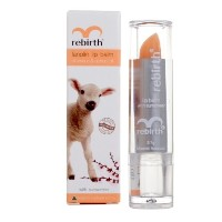 (リップバーム) Rebirth Lanolin Lip Balm with Vitamin E  Apricot Oil  with sunscreen Product of Australia