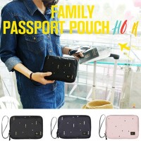 [Made In Korea][SWEET MANGO] FAMILY PASSPORT POUCH HOLA - [ パスポート財布 パスポートケース パスポートカバーパスポートカバー...
