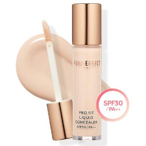 PONY EFFECT Pro Fit Liquid Concealer 4 Colors / Easy Covering / Moist Liquid Type Concealer / 4...