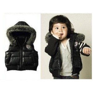 Child Outerwear  baby waistcoat Winter High quality children cotton hoodies vest Kids boys and...