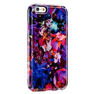 Speck 73774-C083 Case for iPhone 6  6s - LushFloral Pattern/Beaming Orchid Purple