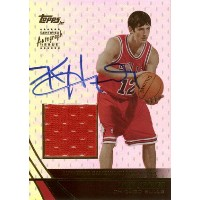 Kirk Hinrich 2003/04 Topps Jersey Edition Rookie Jersey Autograph 499枚限定!