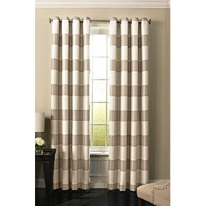 High Quality 63 Natural Gaultier Blackout Window Curtain
