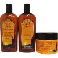 Agadir Argan Oil Daily Moisturizing 3 in 1 Combo Set IV by Agadir