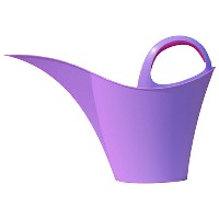 KEIRA WATERING CAN 5L パープル【日用大工・園芸用品館】