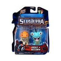 ☆春の特別企画☆エントリーで当店全品ポイント5倍!【Slugterra Mini Figure 2-Pack Rocky & Buzzsaw [Includes Code for Exclusive...