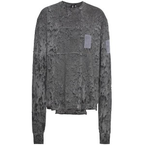 Liam Hodges Rave Wash Treated Tシャツ - グレー