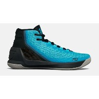 "Under Armour Curry 3""Light Blue""メンズ Island Blues / Blue Drift アンダーアーマー バッシュ カリー3 Stephen Curry..."