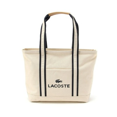 LACOSTE (M)ロゴトートバッグ ラコステ バッグ【送料無料】