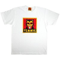 CREAM SODA TEMMYE Tシャツ 『WHITE』 ☆ PINK DRAGON クリームソーダ JIMMY'S DREAM (XL)