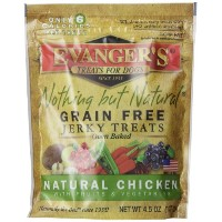 EVANGER'S Nothing But Natural Organic Chicken Dog Training Treats Food 4.5-Ounce