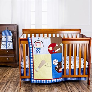 Dream On Me All-Star Athlete 5 Piece Reversible Full Size Crib Set by Dream On Me