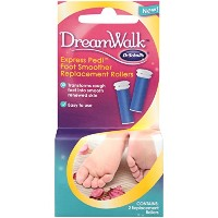Dr. Scholl's DreamWalk Express Pedi Foot Smoother Replacement Rollers 2 count by Dr. Scholl's