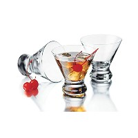 High Quality 89584 4 Piece Cosmopolitan Cocktail/Martini Glasses, 8 1/4 oz, Clear