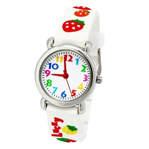 TOPCHANCES Kid 's 3d CartoonゴムバンドカラフルWatches