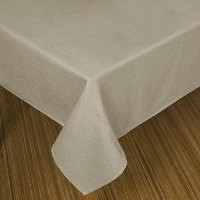 High Quality Loft Table Cloth, 60 by 84-Inch, Linen