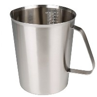 sissiangleステンレススチールMilk Frothing Pitcher for hd7019、エスプレッソマシン、コーヒー& Latte Art 2000ml シルバー COMINHKPR1...