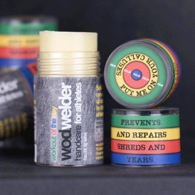 w.o.d. welder Solid Salve Balm - Hydrates Your Calluses and Hands by w.o.d. welder
