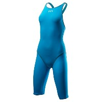TYR(ティア) TYR ティア レディース競泳スパッツ水着 TPSFO6A BL/GY TPSFO6A BL/GY M