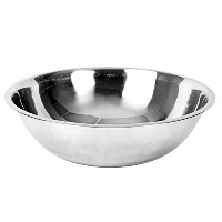 High Quality Mixing Bowl, Heavy Duty, Stainless Steel, 22 gauge, 13 quart, 0.8 mm