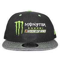 (ニューエラ) NEW ERA MONSTER ENERGY 【NASCAR CUP SERIES TRUCKER MESH CAP/BLK-GREY】 モンスターエナジー ナスカー カップ ...