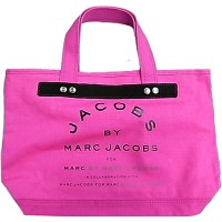 MARC BY MARC JACOBS マーク バイ マークジェイコブス トート バッグ マークジェイコブス ショッキングピンク トートバッグ 未使用