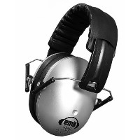 【Em's 4 Kids Hearing Protection Earmuffs Noise Protection (Silver) by Em's 4 Kids Earmuffs】...