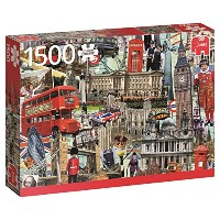 【Best of... London - 1500 Teile Puzzle】 b01ddd1a2w