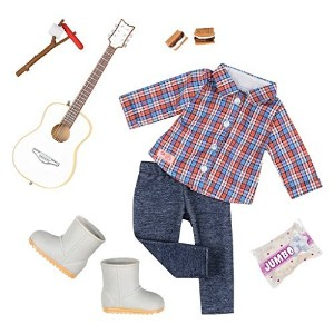 "【Our Generation Campfire Cutie Camping Outfit with Guitar for 18"" Dolls】 b01lyp0k0l"