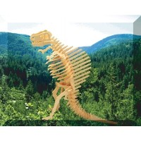 【Puzzled Spinosaurus 3D Natural Wood Kids Child Play Toy Puzzle Game by Puzzled [並行輸入品]】 b000i5rp4g