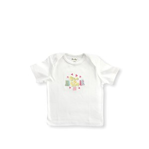 Funkoos Born To Shop Short Sleeve Organic Baby Tee, 6-9 months, Baby Girl Clothes made from 100%...