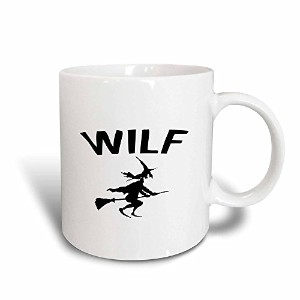 3droseマーク・アンドリュースZeGear Seasonal – I Wanted to Be a Witch – マグカップ 11-oz Magic Transforming Mug ホワイト...