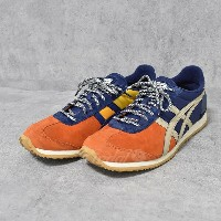 【中古】Onitsuka tiger × MITA SEAKERS CALIFORNIA スニーカー THN516 オレンジ他 サイズ:US11 1/2(29cm) 【060218】...