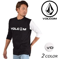 メンズ 五分袖 Tシャツ VOLCOM ボルコム Basic Half Sleeve Tee A39118JA FF1 A30 MM