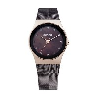 【Bering Time 12927 262レディースクラシックコレクションWatch with Mesh Band and scratch resistantサファイアクリスタル。デンマークの設計...