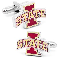 【NCAA Iowa State Cyclones Cufflinks】 b007mrwpwk