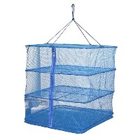 【3 Tray Hanging Drying Net, Food Dehydrator - Natural Way to Dry Food as Fruits, Vegetables and...