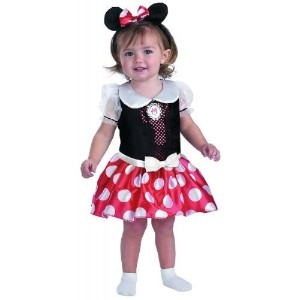 【Minnie Mouse Classic Child Costume X - Small】 b00i3ak69e
