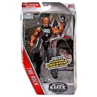 【WWE, Elite Collection Then Now Forever, The Rock Exclusive Action Figure】 b01k5pcr82