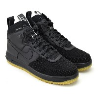 NIKE LUNAR FORCE 1 DUCKBOOT BLACK/BLACK-METALLIC SILVER-AN ナイキ ルナ フォース 1 ダックブーツ